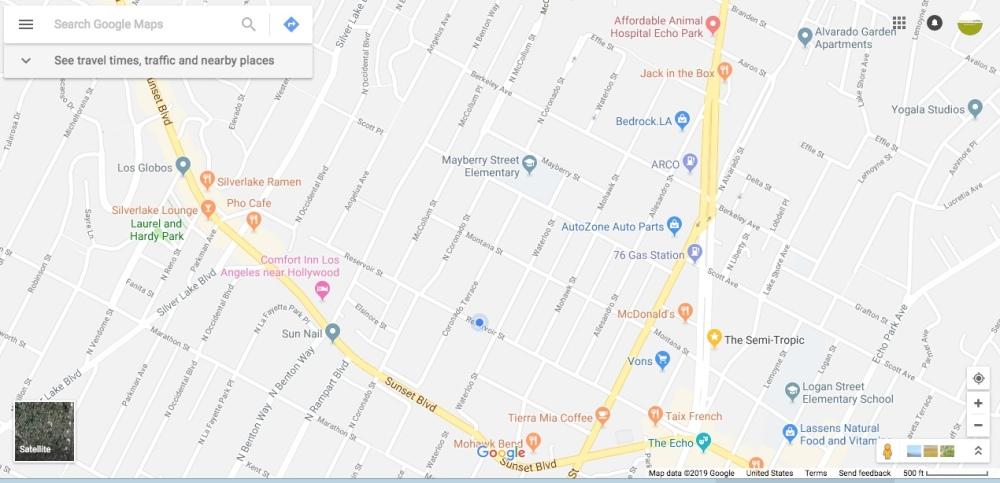 2311 Reservor Street map